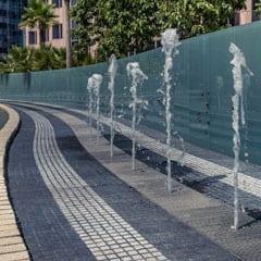 Transbay Bus Fountain